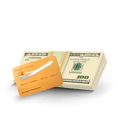 Money credit card vector
