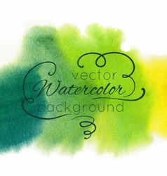 Watercolor abstract colorful textured background vector