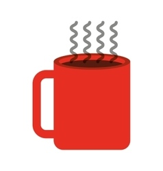 cup coffee drink icon vector image