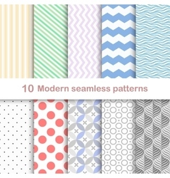 Modern coloful patterns vector