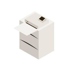 office laser printer vector image