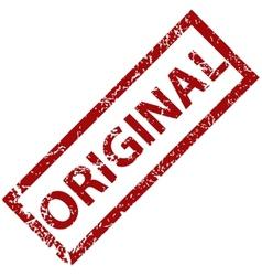 Original rubber stamp vector