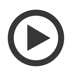 Play video line icon design vector
