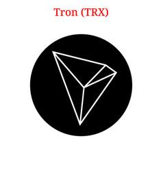 Tron trx logo vector