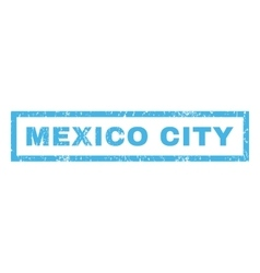 Mexico City Rubber Stamp vector image