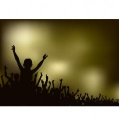 concert vector image vector image