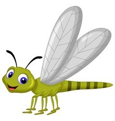 Dragonfly cartoon vector image vector image