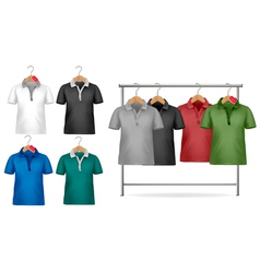 t-shirt design template vector image vector image