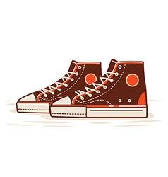 Classic Sneaker vector image