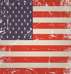 Flag America vector image