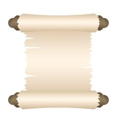 Manuscript blank paper vector