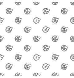 mining cutting wheel pattern seamless vector image