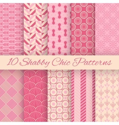 Shachic seamless patterns vector