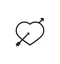 Valentine ungrouped vector