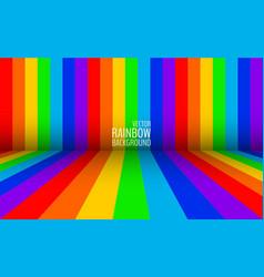 gay rainbow flag backdrop vector image