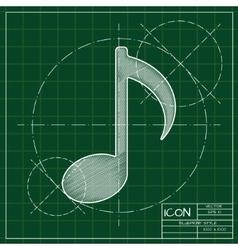Paper icon vector