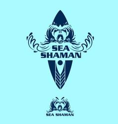 Sea shaman vector
