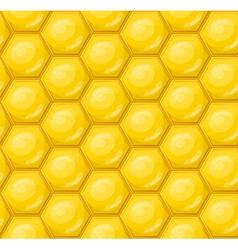 Seamless honeycomb wallpaper pattern vector