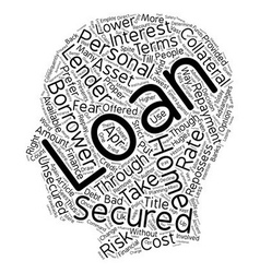 Secured Personal Loans Employ the Right Kind of vector