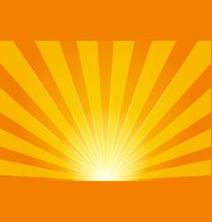 shine sun rays pattern on light background vector image