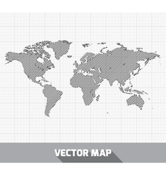 World global map vector