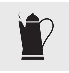 cafetiere icon vector image