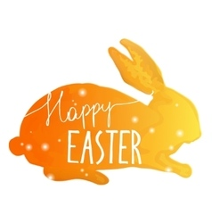 Easter Hand drawn design elements vector image vector image
