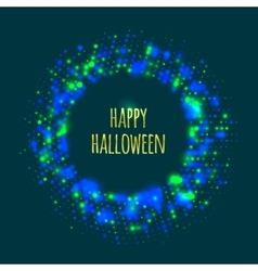 Abstract frame for Halloween vector image