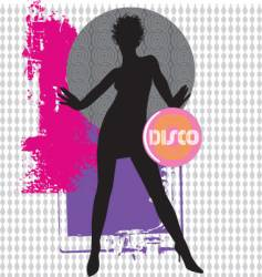collage dancer vector image vector image