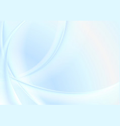 light blue abstract smooth blurred waves vector image