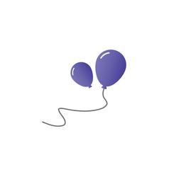 Balloon icon design template isolated vector