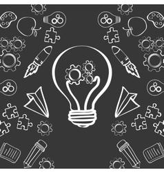big idea sketch design vector image