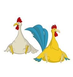 Chiken vector image