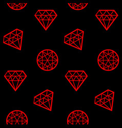 Concept abstract geometry diamond vector