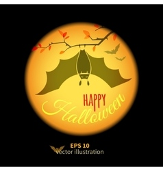 Halloween Colored card vector