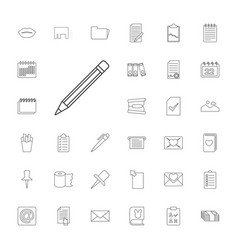 Paper icons vector