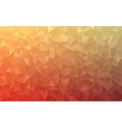 Polygonal abstract Background - red yellow vector image