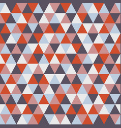 triangle pattern with retro and fashion concept vector image