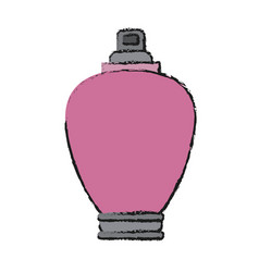 Woman fragance icon vector