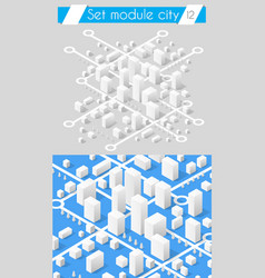 set for design 3d vector image vector image