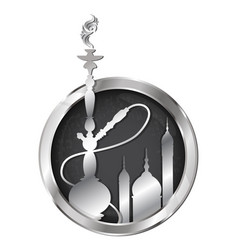 hookah symbol for a vector image