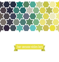 Triangle template background triangle background vector image