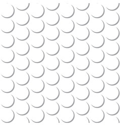 Abstract Round Circle Seamless Pattern Background vector image