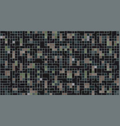 abstract black geometric texture vector image