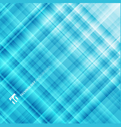 Abstract light blue technology background digital vector