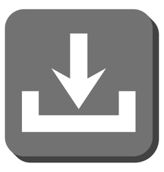 Downloads Rounded Square Icon vector