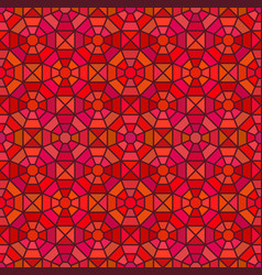 Seamless mosaic pattern in octagon concept vector