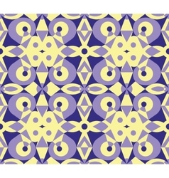 Abstract violet geometrical seamless pattern vector image vector image