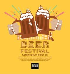 Beer Festival EPS10 vector image