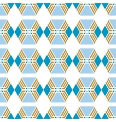 Seamless geometric pattern Decorative background vector image vector image